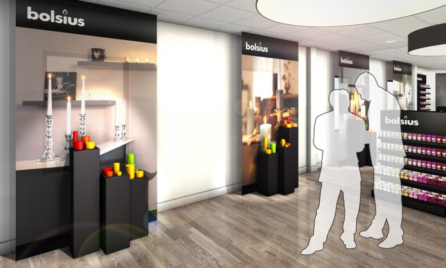 Bolsius showroom